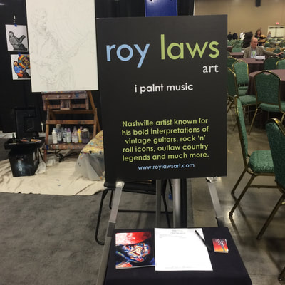 Roy Laws art, Painter of Music, live entertainment at corporate events